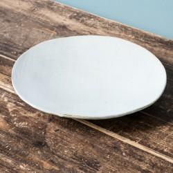 Flat plate OSLO 26cm white