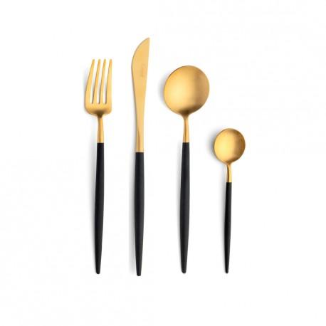 Cutlery Set - 24 Pieces - Black