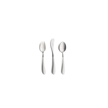 Cutlery set 3 pieces for Children White
