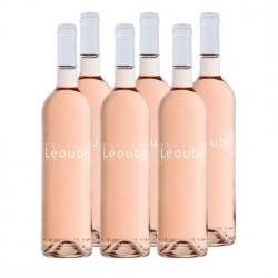 Set of 6 bottles - Rosé de Léoube