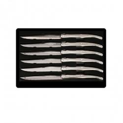 Coffret 6 couteaux à STEAK en METAL