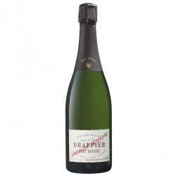 Bouteilles de champagne DRAPPIER Brut nature SANS AJOUT DE SOUFRE